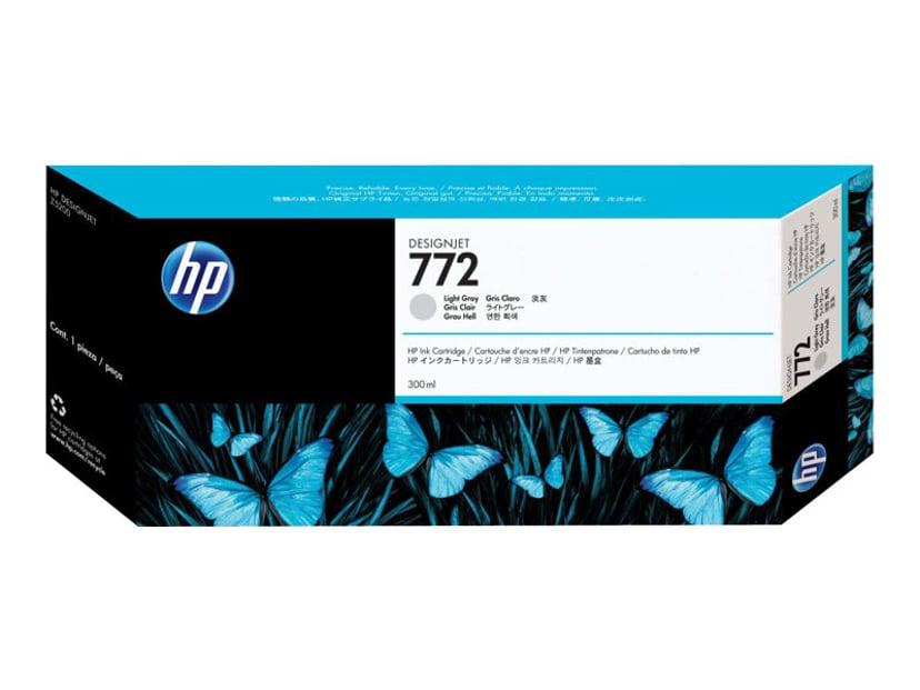 HP Blekk Ljus Grå No.772 - DESIGNJET Z5200PS