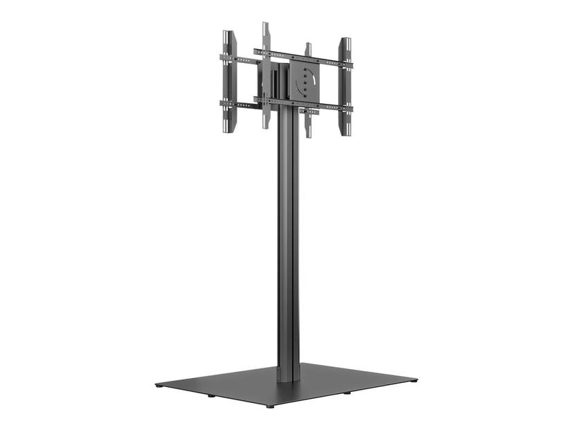 Multibrackets M Public Display Stand 180 HD Back to Back Black w. Floorbase