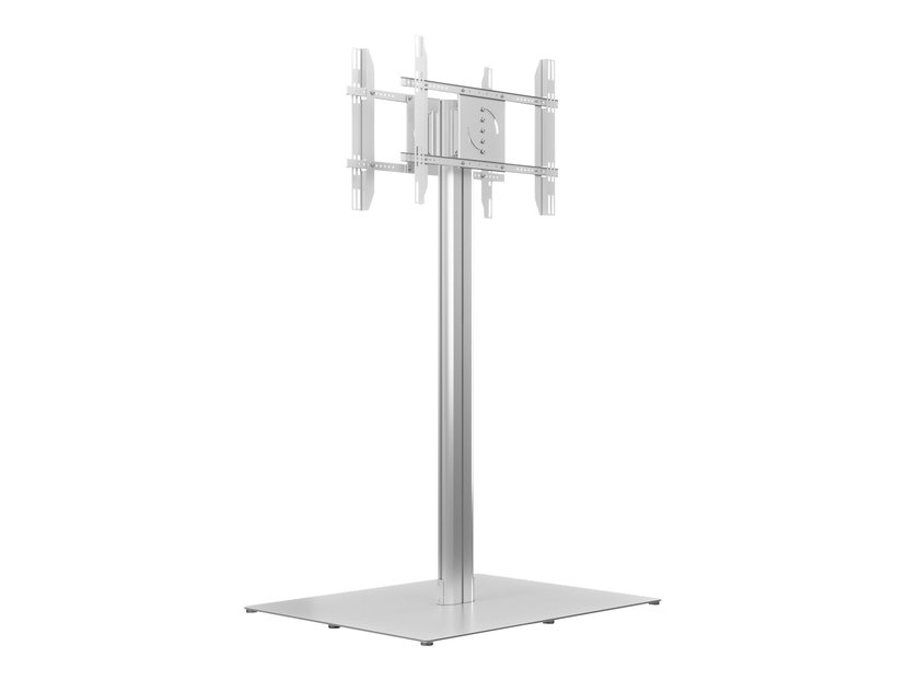 Multibrackets M Public Display Stand 180 HD Back to Back Silver w. Floorbase