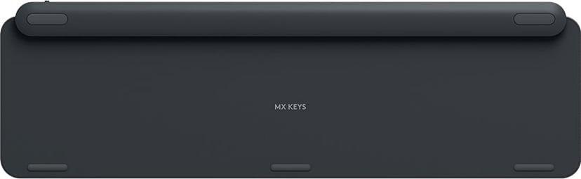 Logitech MX Keys Tangentbord Trådlös Nordiska länderna Hela norden Svart