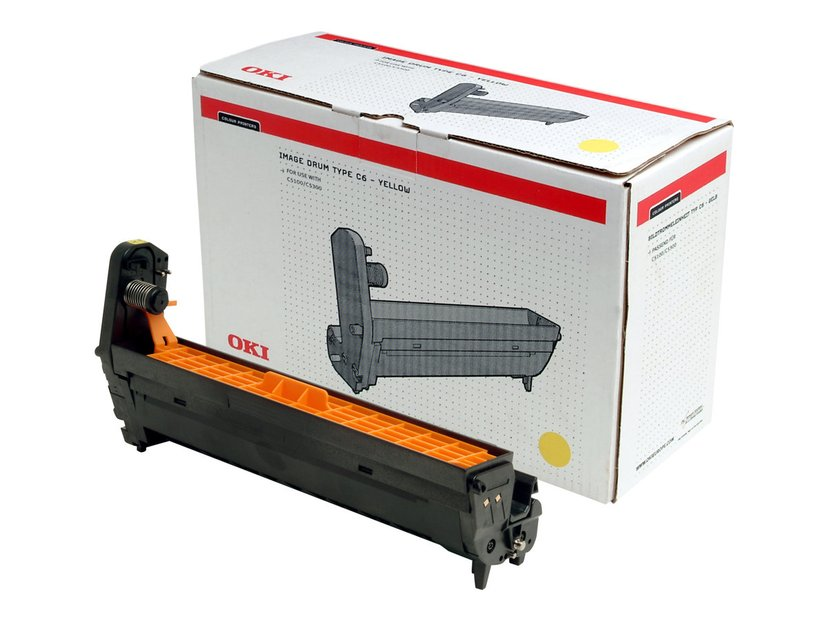OKI Tromle Gul - C5100/C5300/C5400