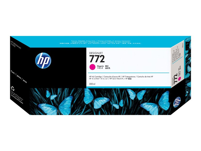 HP Blæk Magenta No.772 - DESIGNJET Z5200PS