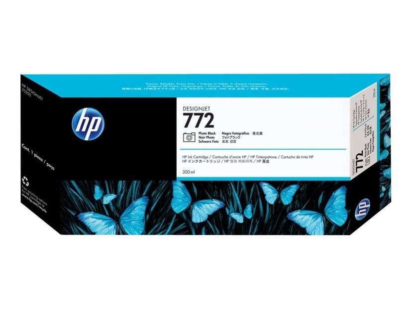 HP Bläck Foto Svart No.772 - DESIGNJET Z5200PS