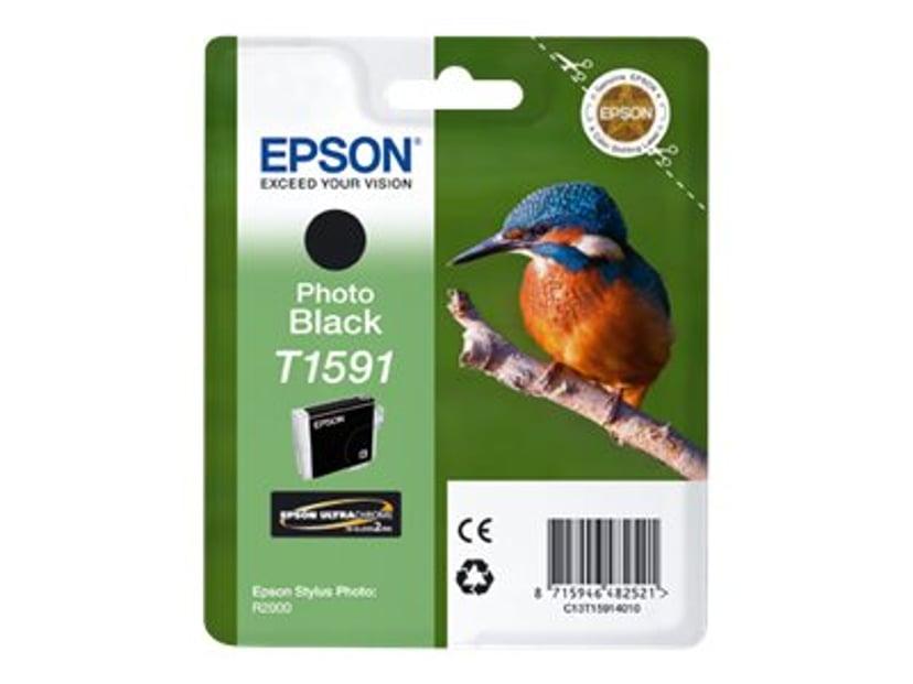 Epson Bläck Foto Svart T1591 - R2000
