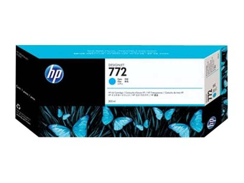 HP Bläck Cyan No.772 - DESIGNJET Z5200PS