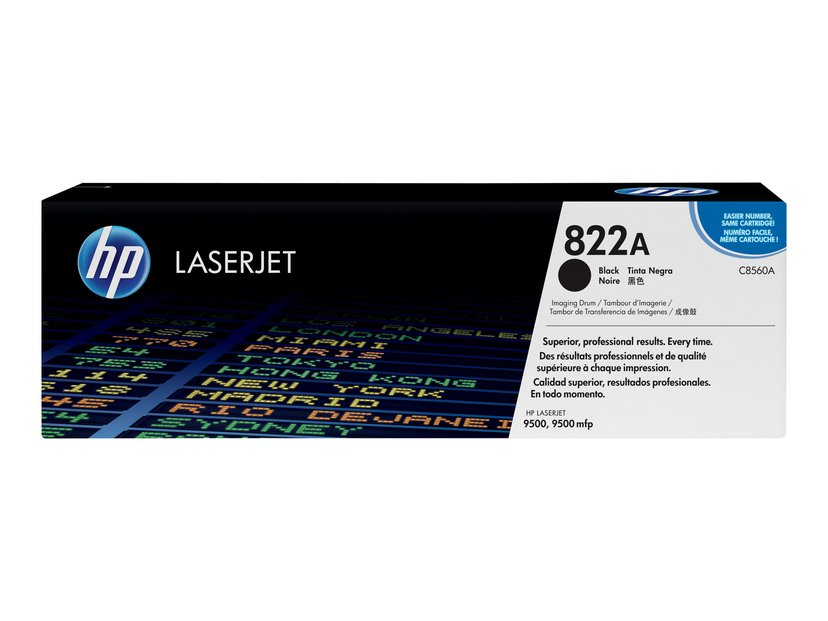 HP Tromle Sort - CLJ 9500 SERIES