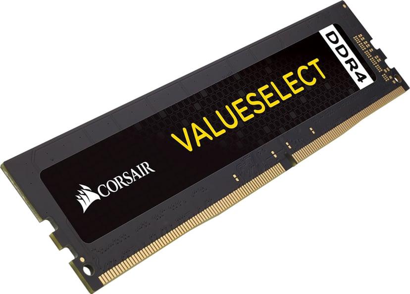 Corsair Value Select 32GB DDR4 2666MHz - Black 32GB 2,666MHz DDR4 SDRAM DIMM 288-pin