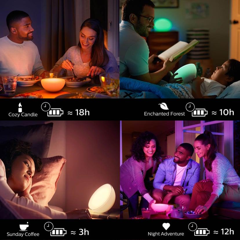 Philips Hue Go Color Bærbar Lampe