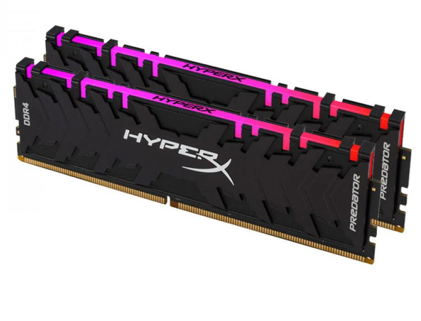Kingston HyperX Predator RGB 16GB 3,200MHz DDR4 SDRAM DIMM 288-pin