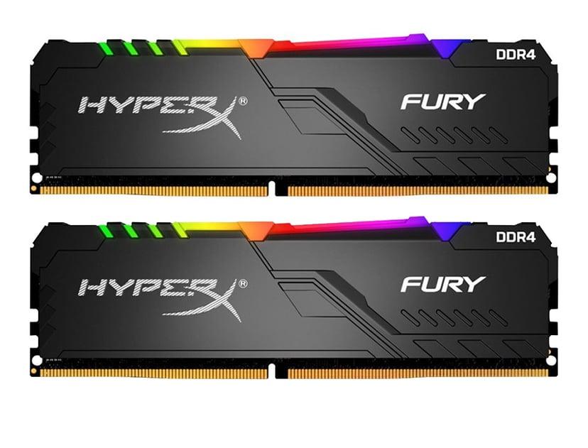 Kingston HyperX FURY RGB 16GB 3,200MHz DDR4 SDRAM DIMM 288-pin