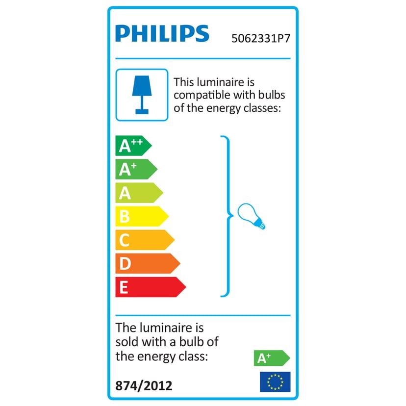 Philips Hue Argenta White/Color 3x5,7W White