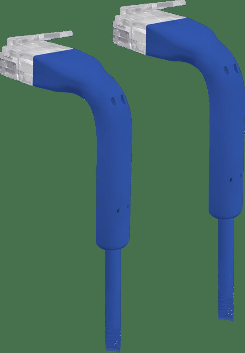 Ubiquiti UniFi Ethernet Patch Cable RJ-45 RJ-45 CAT 6 0.1m Blå