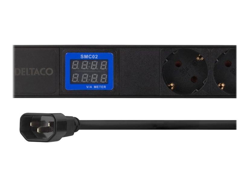 Deltaco GT-8638 CEE 7/3 strøm 7st