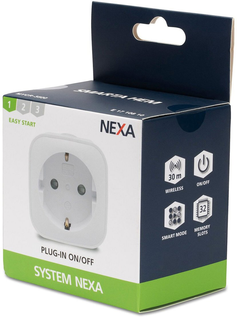 Nexa MYCR-3500 1-pack väggbrytare