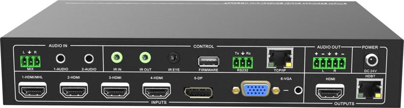 Vivolink HDBaseT Switcher Scaler kit