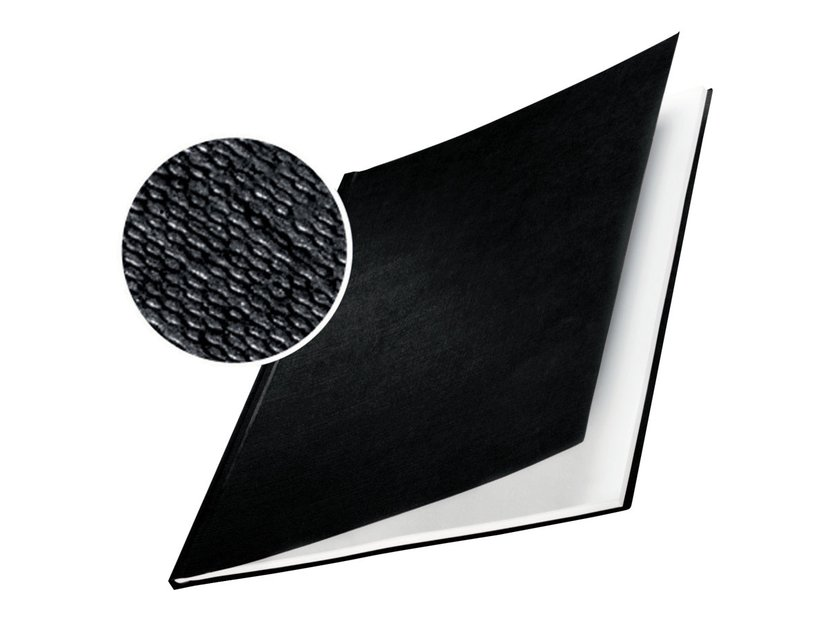 Leitz ImpressBIND Omslag Hårt Svart A4 17.5mm
