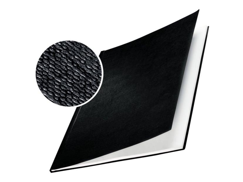 Leitz ImpressBIND Omslag Hårt Svart A4 24.5mm