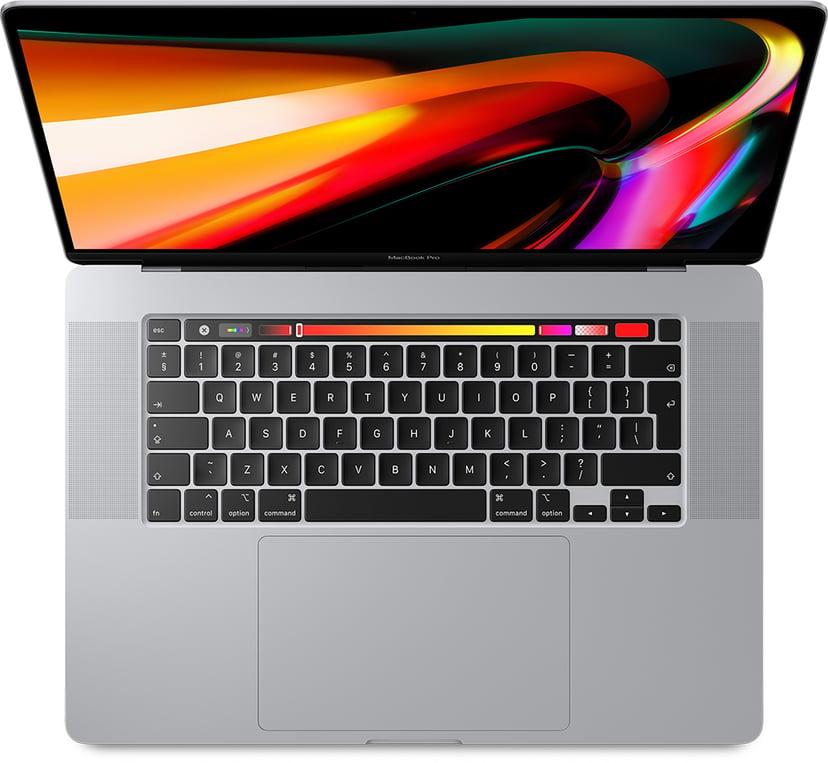 "Apple MacBook Pro (2019) Sølv Core i9 32GB 1024GB SSD 16"""
