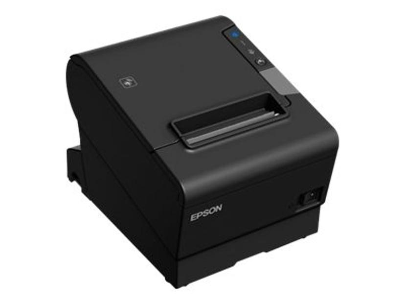 Epson TM-T88VI-IHUB EPOS USB/RS232/ETH Med Strömadapter Svart