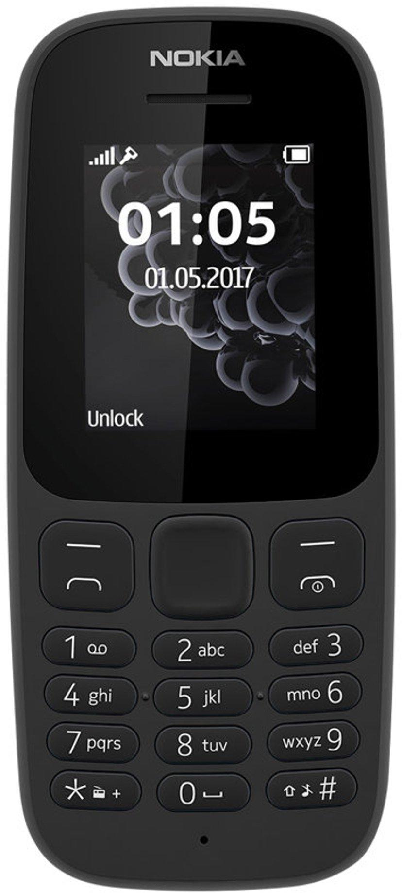 Nokia 105 (2019) Svart