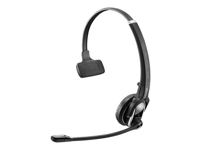 EPOS | SENNHEISER IMPACT DW PRO1 Headset Only Silver; Svart