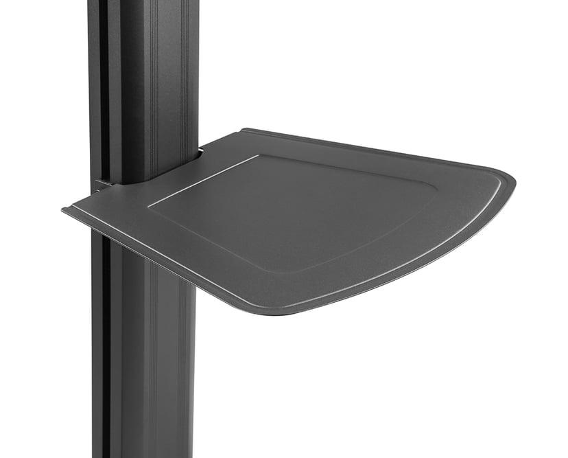 Prokord Fully-Adjustable TV Cart Aluminum