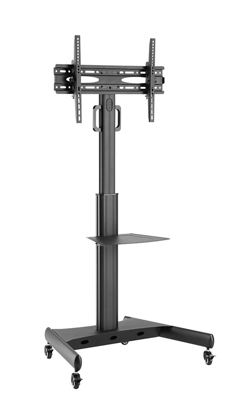 Prokord Fully-Adjustable TV Cart Aluminum