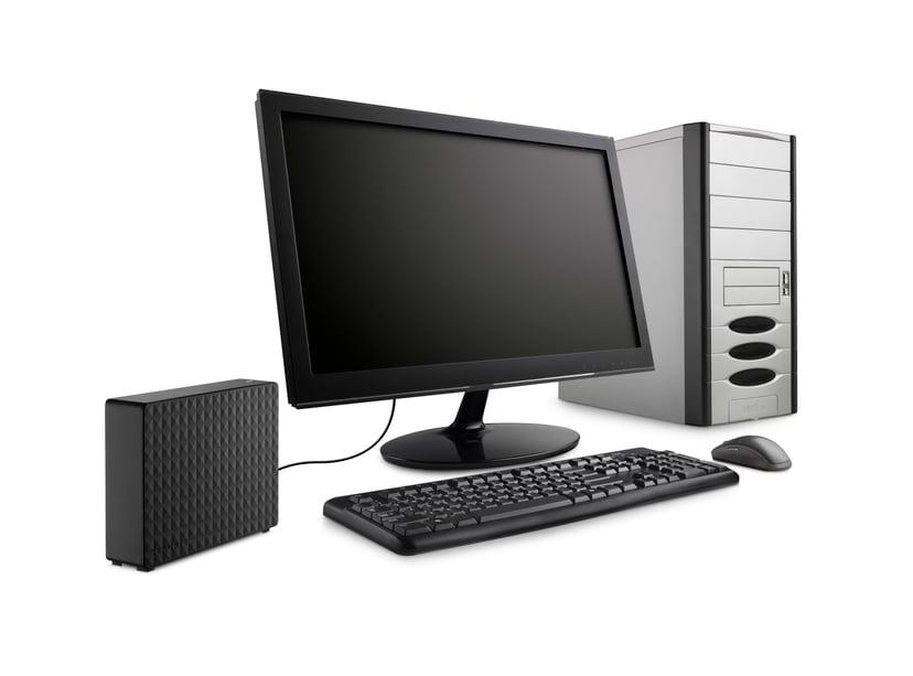 Seagate Expansion Desktop 6TB Svart