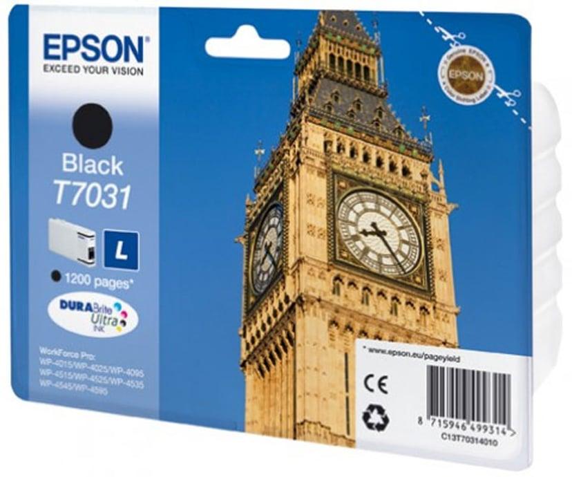 Epson Bläck Svart T7031 L - WP4000/4500