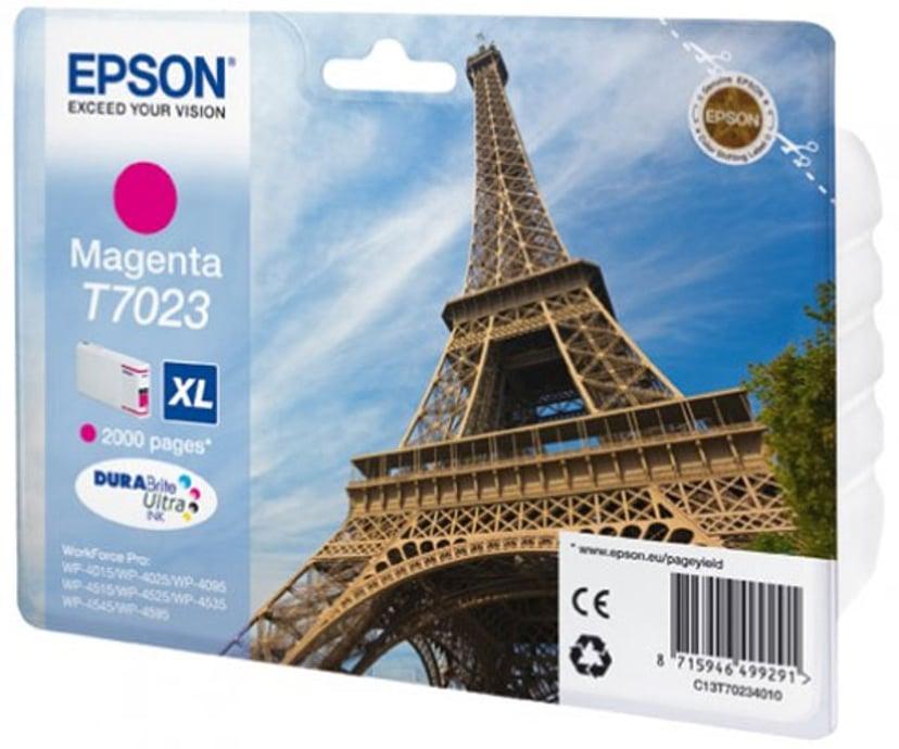 Epson Inkt Magenta T7023 XL - WP4000/4500