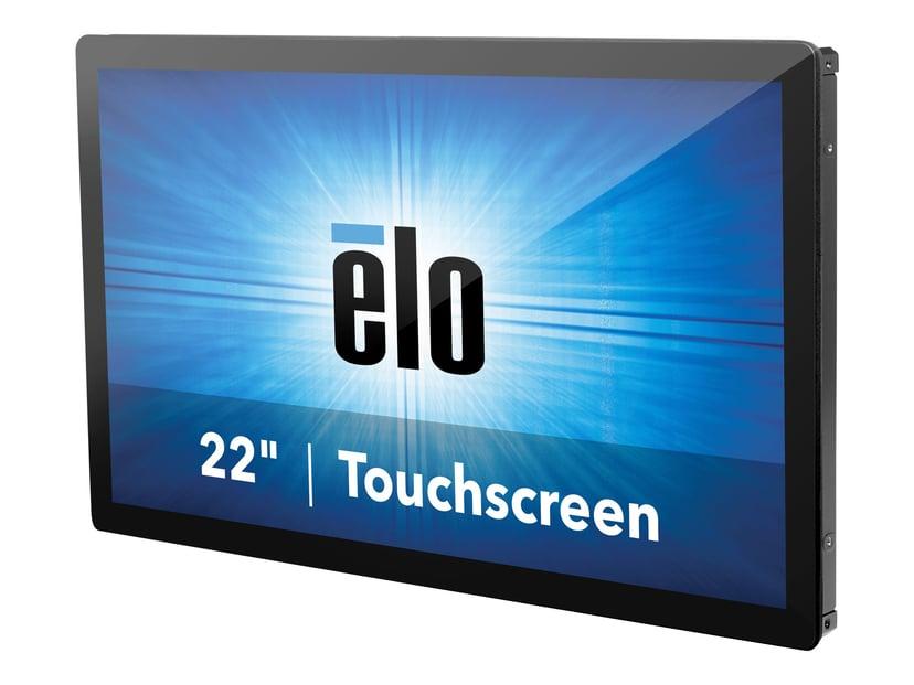 "Elo 2295L 21.5"" Open Frame Touch FHD LCD WVA 10 Touch No Power Black"