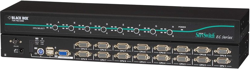 Black Box ServSwitch EC for PS/2 and USB Servers and PS/2 or USB Consoles