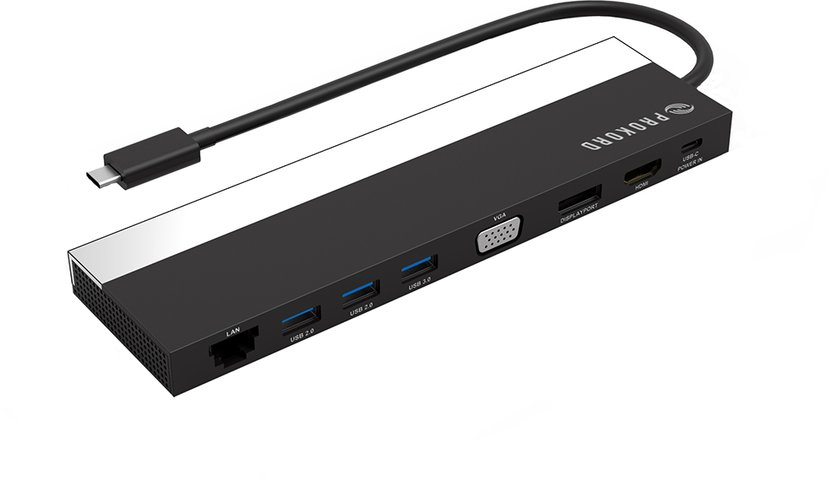 Prokord Workplace Dockingstation II USB-C Portreplikator
