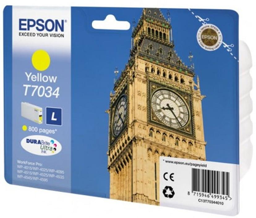 Epson Muste Keltainen L - WP4000/4500