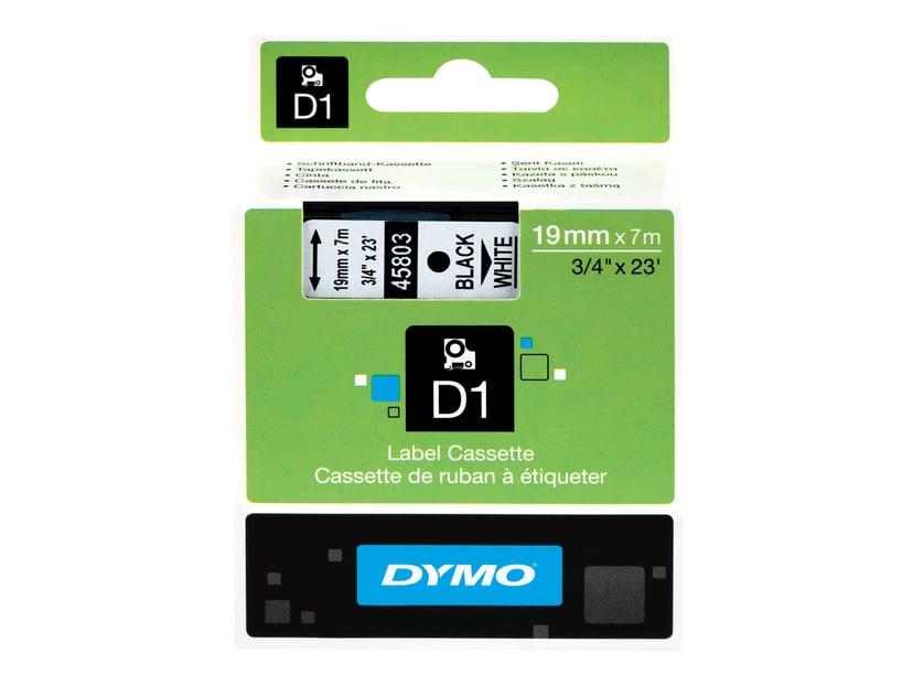 Dymo Tape D1 19mm Black/White