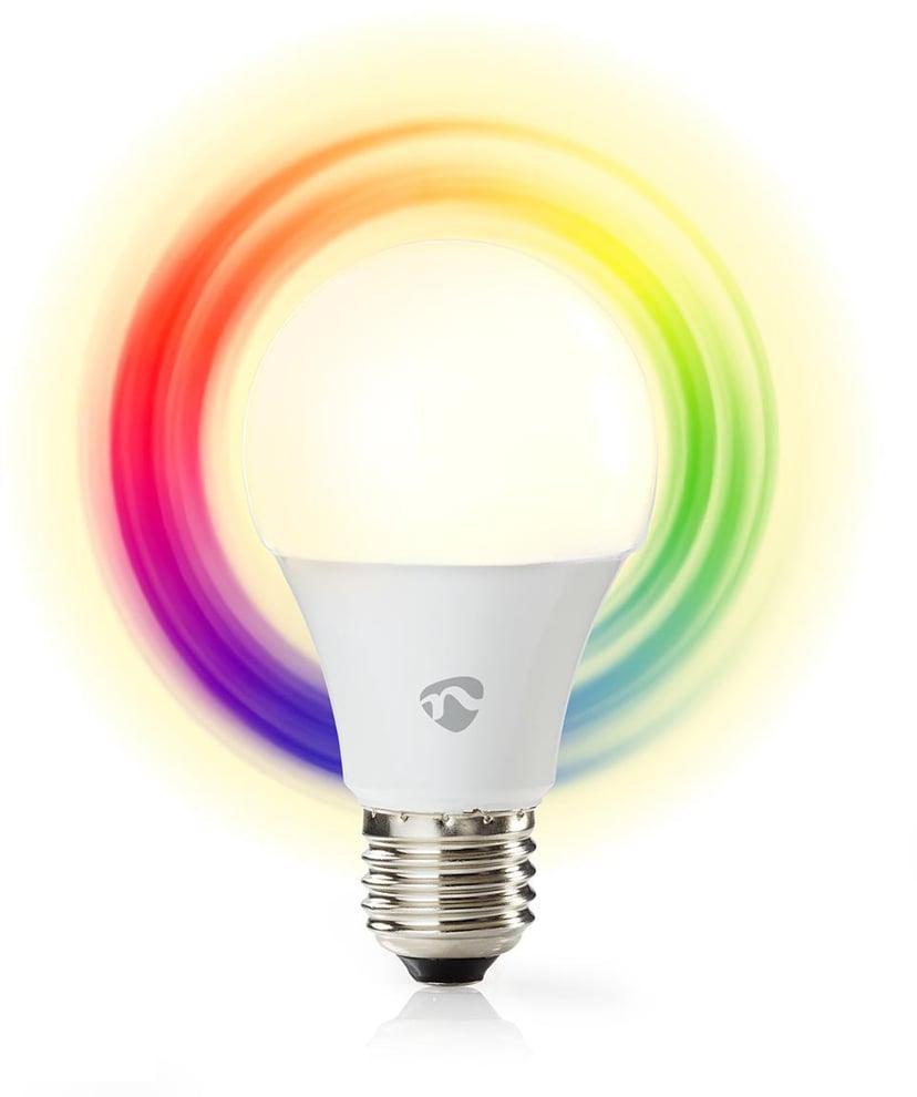 Nedis SmartLife WiFi LED-lampa RGB E27