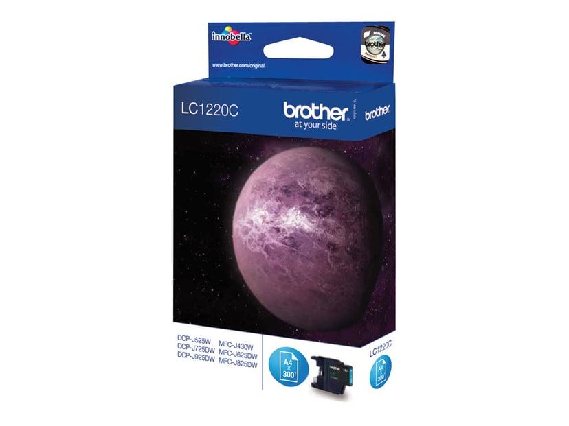 Brother Bläck Cyan LC1220C - DCP-J925DW