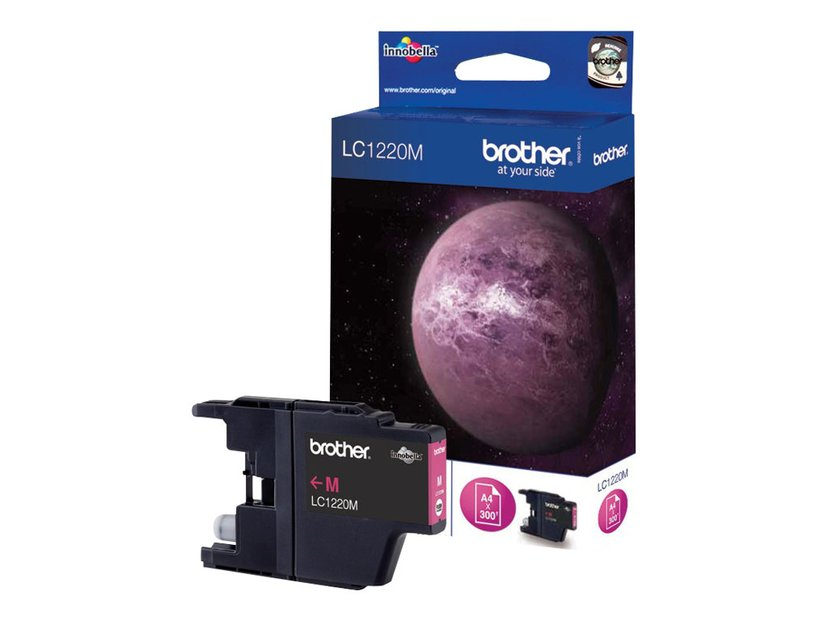 Brother Blekk Magenta LC1220M - DCP-J925DW