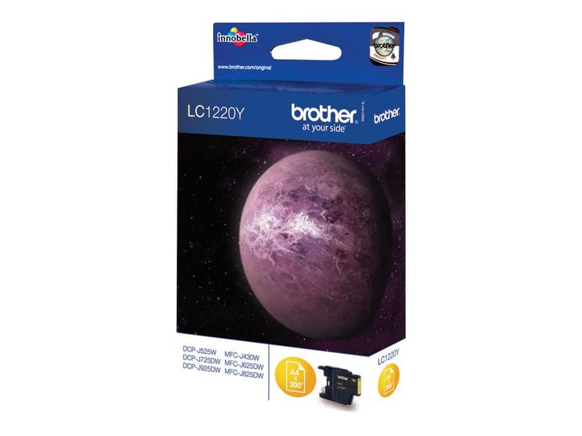 Brother Bläck Gul LC1220Y - DCP-J925DW