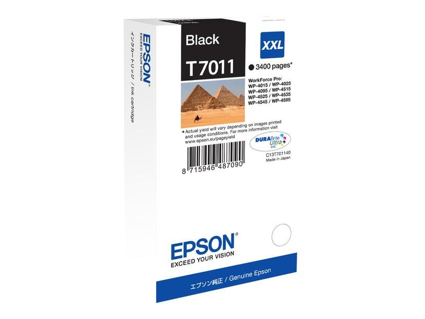 Epson Bläck Svart T7011 XXL - WP4000/4500