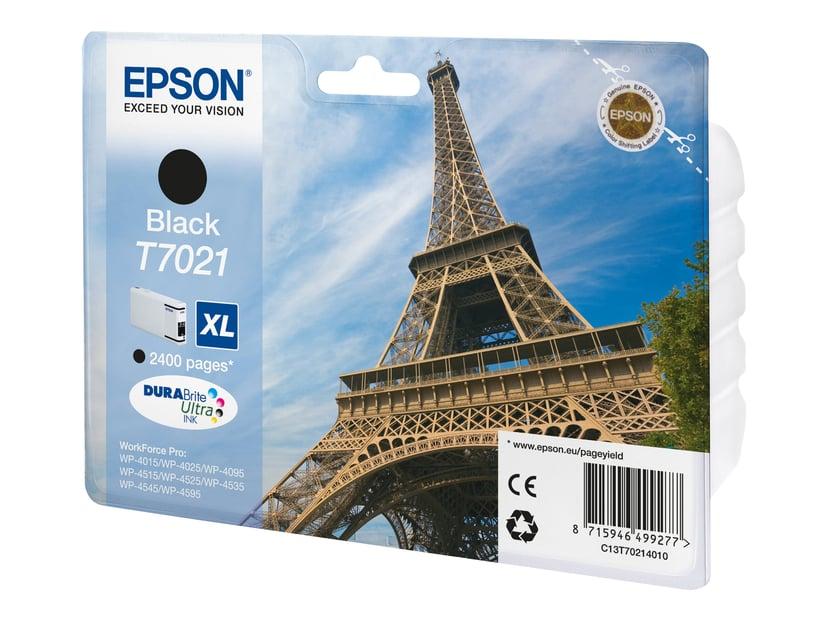 Epson Bläck Svart T7021 XL - WP4000/4500