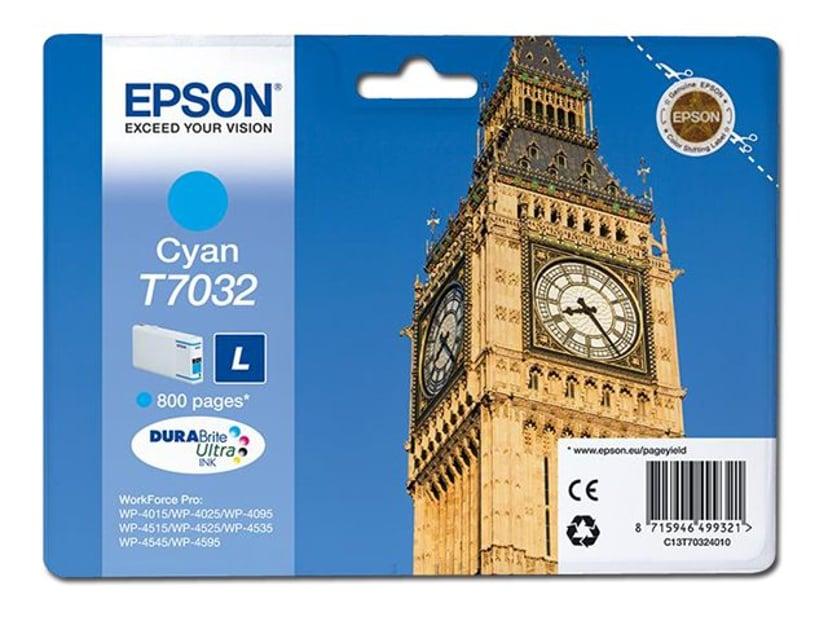 Epson Bläck Cyan T7032 L - WP4000/4500