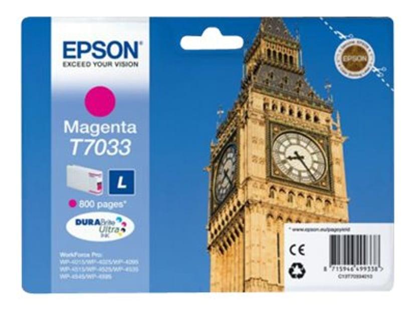 Epson Bläck Magenta T7034 L - WP4000/4500