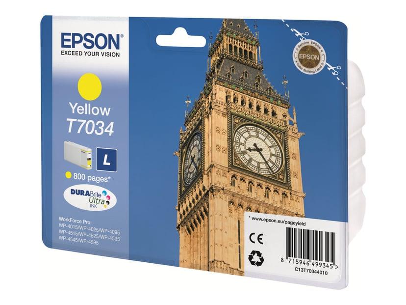Epson Bläck Gul L - WP4000/4500
