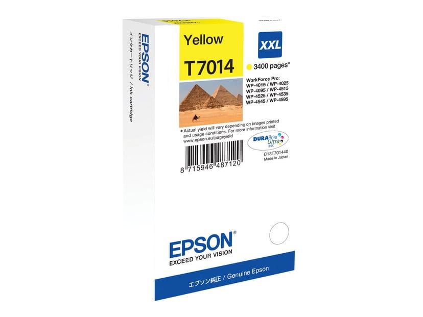 Epson Bläck Gul T7014 XXL - WP4000/4500