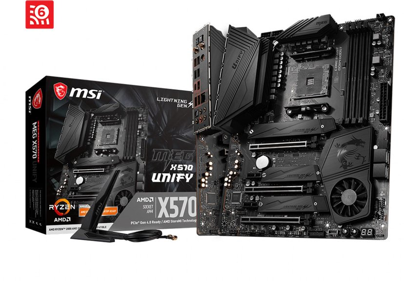 MSI MEG X570 UNIFY ATX Moderkort