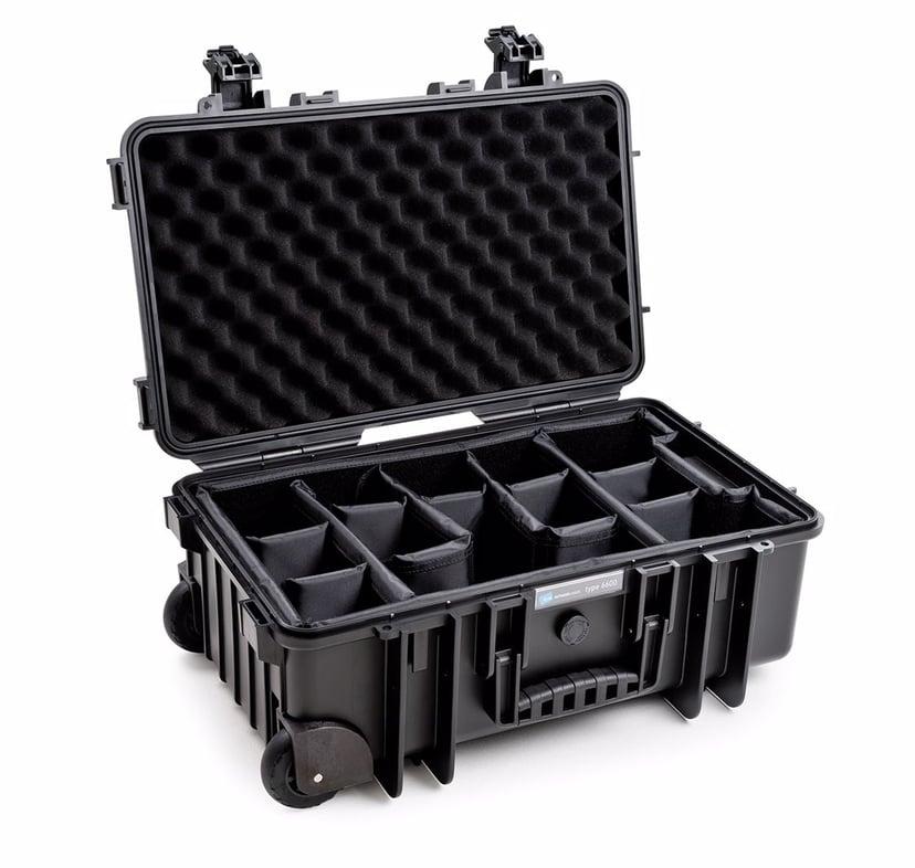 B&W International Outdoor Cases Type 6600 Svart