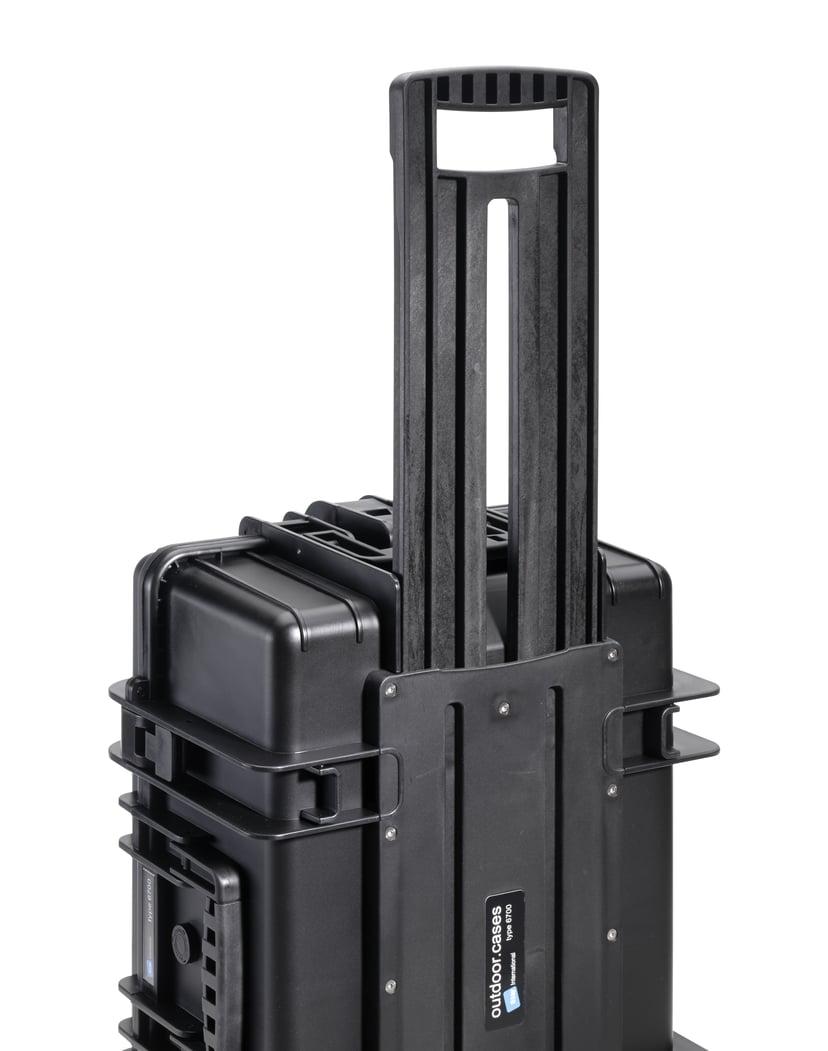 B&W International Outdoor Cases Type 6700 Svart