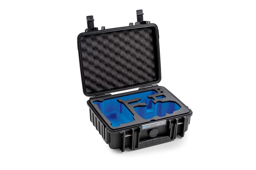 B&W International Outdoor Cases Type 1000 for DJI Mavic Mini Svart