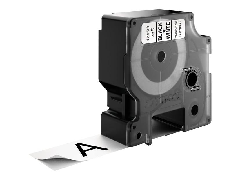Dymo Tape D1 24mm Black/White